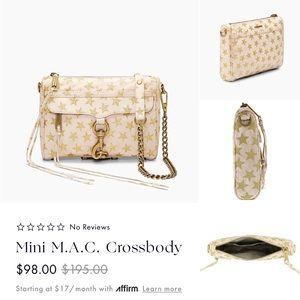 NWT REBECCA MINKOFF MINI M.A.C CROSSBODY